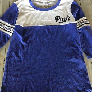 PINK Mid sleeve shirt